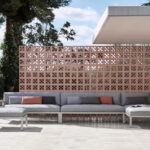 Gandia Blasco sektion soffa utomhusbruk